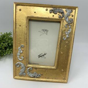 1995 Vintage Terragraphics Gold Picture Frame 4x6